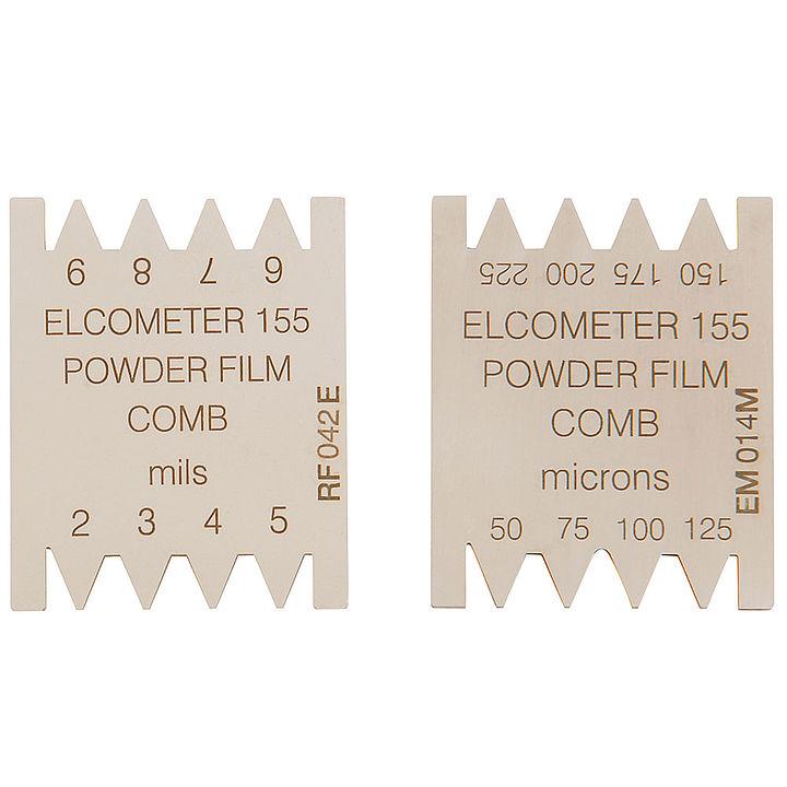 Hrebeň pre nevypálené práškové farby  Elcometer 155