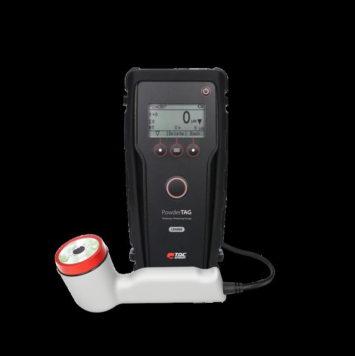 Hrúbkomer PowderTAG TQC na meranie hrúbky práškových farieb