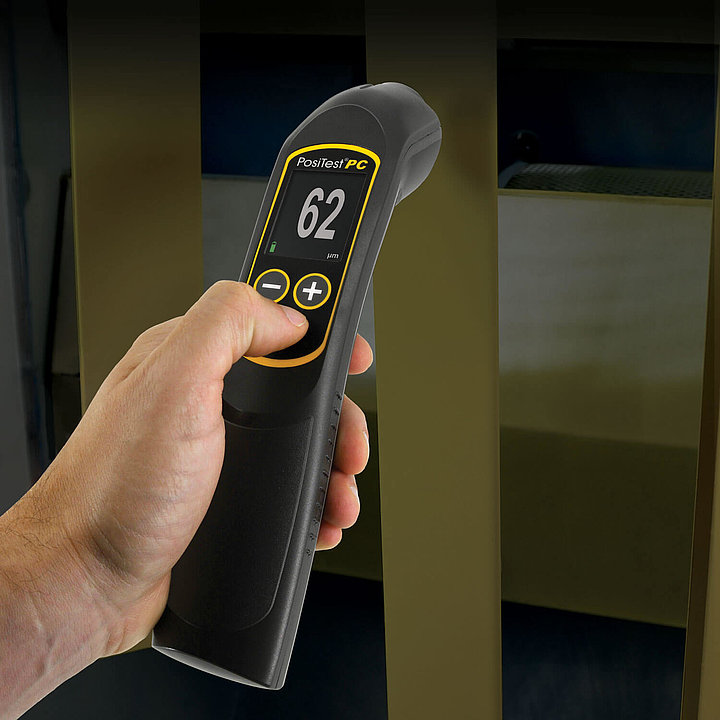 Prístroj LD 5825 meria ultrazvukovou metódou