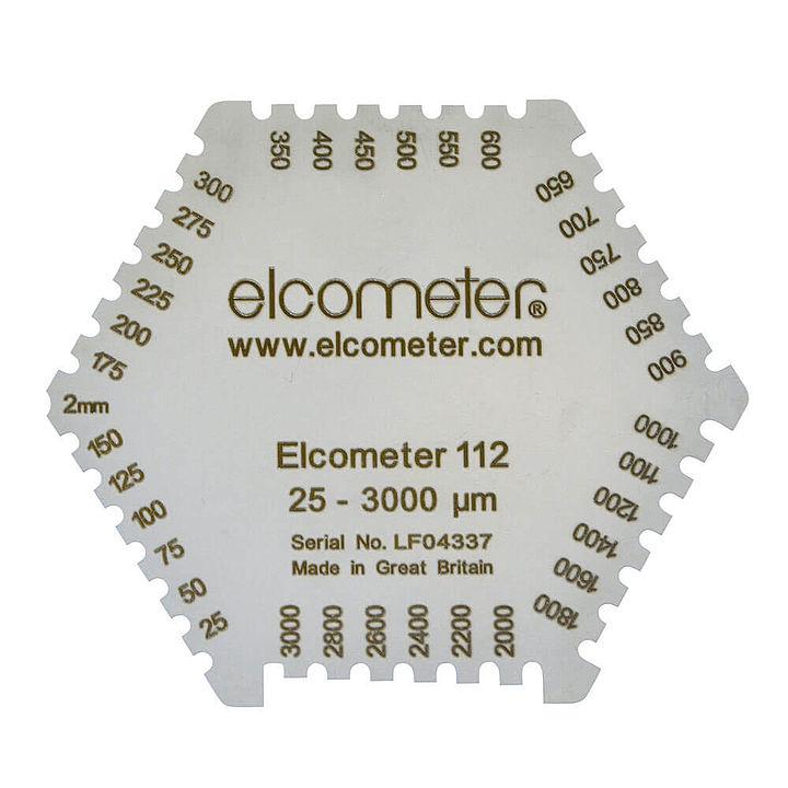 Hliníkový hrebeň Elcometer 112AL